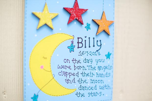 Personalised Wall Plaque, €15-€42, Tiny Things