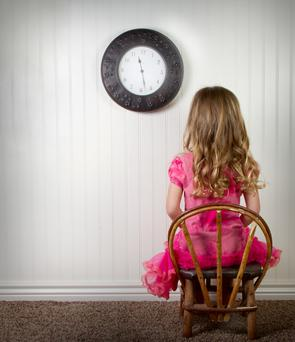 Putting a child on a time-out is not necessarily an effective way of discipline