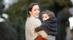 Twice as fun: Alison McEvoy and daughter Annie