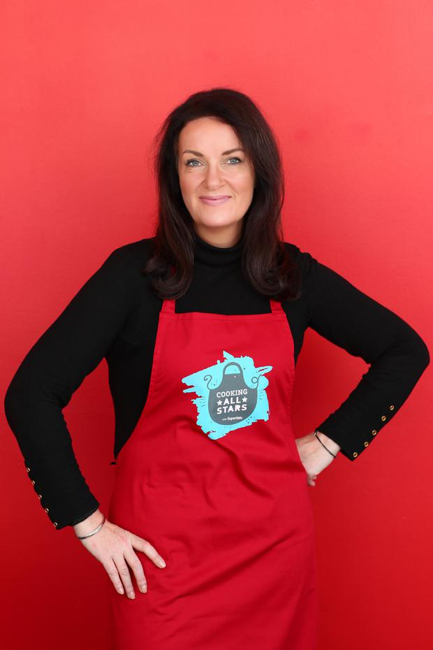 Kitchen confidence: Dr Ciara Kelly believes we are underestimating what our children can do when it comes to cooking