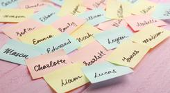 The name game: Those with very common names feel that they 'aren't unique enough' Stock image