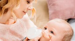 Milking it: Progressing to cow's milk represents a change for babies in terms of their digestive system and taste buds