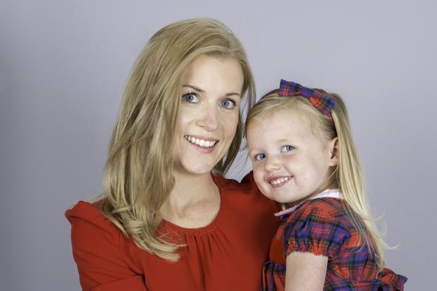 Cairenn Foy with her daughter, Ava
