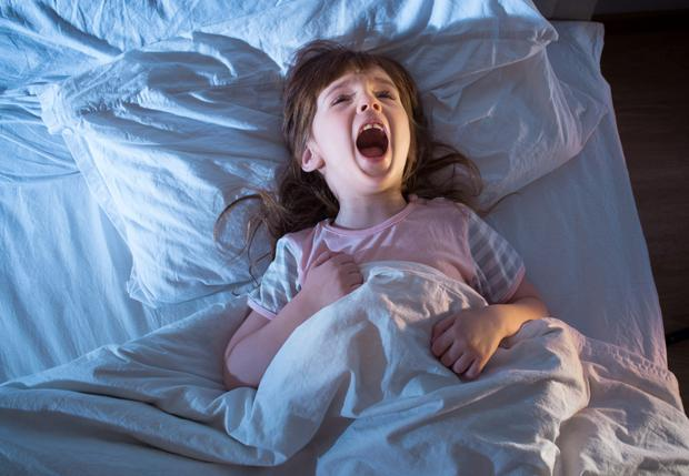 Your daughter may be having night terrors rather than nightmares