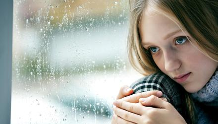 Anxiety is the number one cause of long-term school absenteeism for Irish pupils. Picture posed