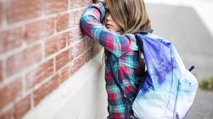 Some children will struggle to attend school due to their anxiety. Stock photo