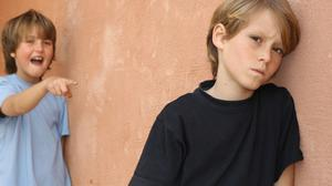 If your son is well-behaved and respectful in class, then the teacher may not realise the distress he feels
