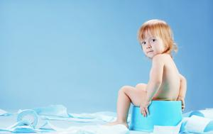 Toilet-training can begin sooner or later, depending on the child