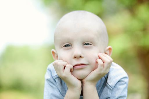 A child will grow up having always had Alopecia
