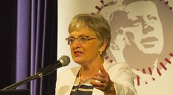 Minister Katherine Zappone opening the Kennedy Summer School in New Ross, Co.Wexford.Photo;Mary Browne