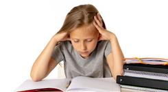 It is perfectly normal and natural for children to be nervous before exams