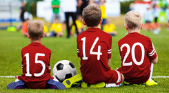 Event companies, bouncy castle operators, leisure centres, yoga classes, soccer teachers, drama classes, some play centres and a large number of leisure companies are going to find it almost impossible to get insurance cover. Stock Image