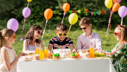 Birthday party invite came just at the right time. Photo: Deposit