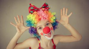 Kids will love clowning around with new circus skills. Picture posed