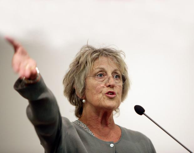 Talk: Germaine Greer was the subject of a petition by Cardiff University students who deemed the feminist 'mysogynistic' leading up to a planned talk at the university