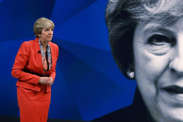 Theresa May appears on a joint Channel 4 and Sky News general election programme on Monday.