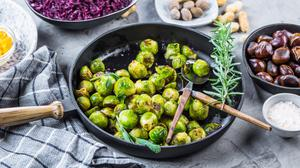 Brussels Sprouts are packed with antioxidants and fibre