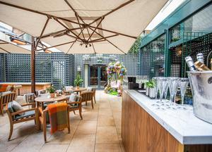 The Terrace at the Shelbourne Hotel, St Stephen's Green, D2