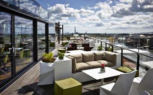 The Rooftop Bar & Terrace at The Marker Hotel, Grand Canal Square, D2