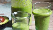 Indy Power's glow green detox smoothie