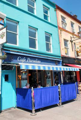 Cafe Paradiso in Cork.