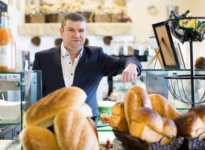SLICES OF SUCCESS: Pat O'Sullivan, who has gone from working as a kitchen porter in his school holidays to running a variety of successful food and catering companies. Photo: Sean Curtin