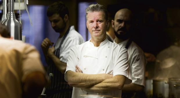 PRESSURE COOKER: Ross Lewis's drive and perfectionism helped win Chapter One a Michelin star in 2007. Photo: David Conachy