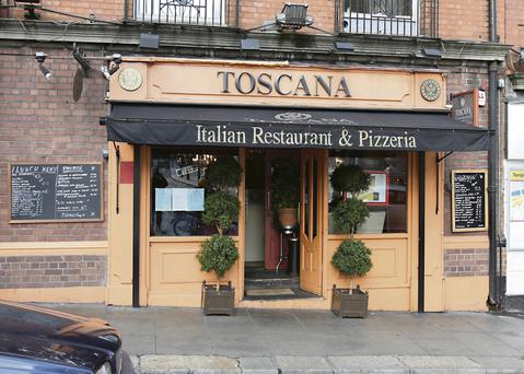 Toscana on Cork Hill just off Dublin's Dame Street, which was the winner of the Good Food Ireland Grow it Yourself Award 2013