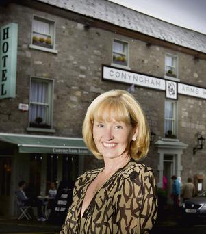 Trish Conroy owner of the Conyngham Arms in Slane, Co Meath. Photo: David Conachy