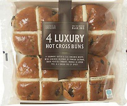 Marks and Spencer Luxury Hot Cross Buns