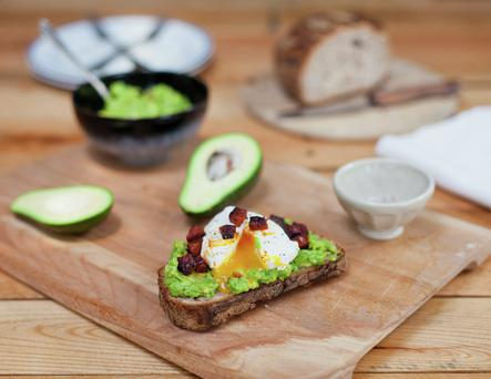 The Avocado Brunch is inspired by The Fumbally cafe's popular Green Eggs dish