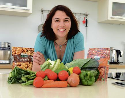 Helen Cassidy says there are huge health benefits to eating less meat