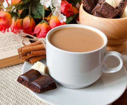 Tea is good for you - but go easy on the chocolate