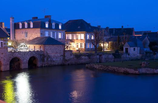 French without fears: The Auberge de la Selune in Ducey.