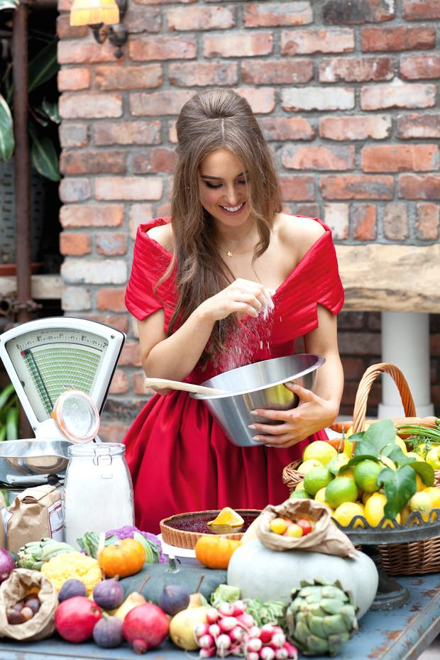 Roz Purcell - health food blogger.