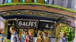 Balfes in Dublin had excellent service and memorable seafood.