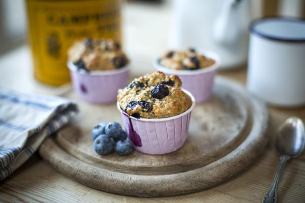 Donal Skehan's what to eat now: blueberry & chia seed muffins