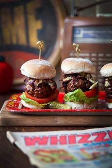 Donal Skehan's Blue Cheese Beef Sliders
