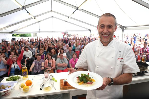 Masterclass with Michael Roux Jr