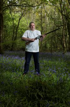 Richard Corrigan: 'In the autumn we'll have pheasants and other game birds for rough shooting'. Photo: Mark Condren