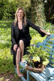 Rachel Allen says courgettes can make the tastiest of dishes. Photo: Tony Gavin