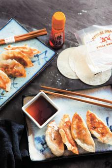 Chicken gyoza from Japanese Food by Fiona Uyema