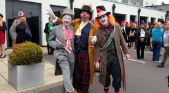 Hats off to Kinsale: Getting ready for the Kinsale Mad Hatters Taste of Kinsale food tour are Charles Hurley, Dave McCann and Cathal Hurley