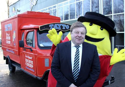Mr Tayto: Ray Coyle