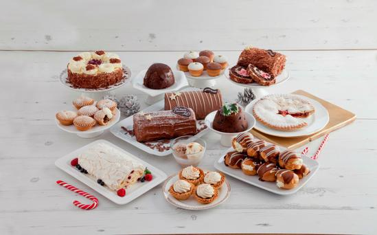 Centra's collection of desserts.
