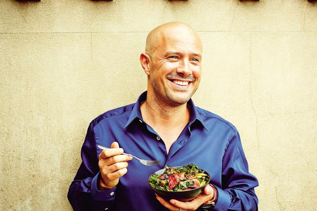 Chef Dale Pinnock urges people to 'eat for life'.