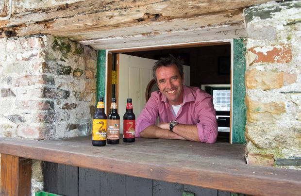 Kevin Dundon at the 'Local Pub' which is on site at Dunbrody House Hotel. Photo: Patrick Browne.