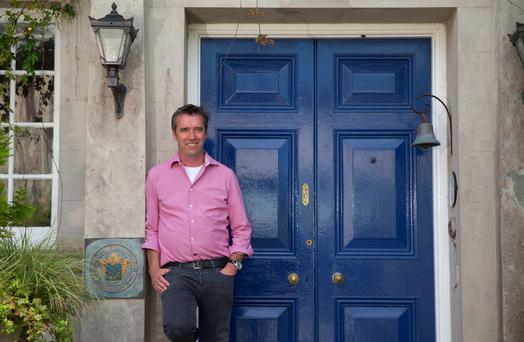 Kevin Dundon outside Dunbrody House Hotel, Arthurstown, Co. Wexford. Photo: Patrick Browne
