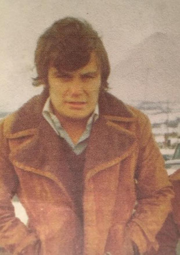 Derry Clarke as a young man during his Kinsale days