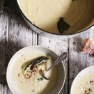 Cauliflower & Ginger Soup